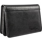 Offix Carrying Case (Wallet) Business Card - Black
