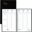 Blueline Timanager Weekly Planner 2021, (French version) Black
