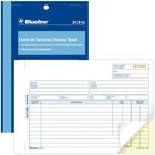 Blueline Invoices Book