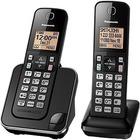Panasonic KX-TGC382 DECT 6.0 1.93 GHz Cordless Phone - Black