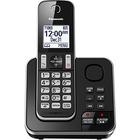 Panasonic KX-TGD390 DECT 6.0 1.93 GHz Cordless Phone - Black