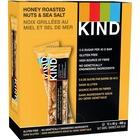 KIND Honey Roasted Nut and Sea Salt Bar - Gluten-free, Individually Wrapped, Non-GMO - Honey Roasted Nut, Sea Salt - 39.7 g - 12 / Box