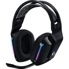 Logitech G733 Lightspeed Wireless RGB Gaming Headset - Stereo - Wireless - 65.6 ft - 5 Kilo Ohm - 20 Hz - 20 kHz - Over-the-head - Binaural - Circumaural - Cardioid, Uni-directional Microphone - Black