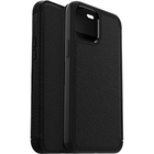 OtterBox Strada Carrying Case (Wallet) Apple Smartphone - Shadow Black