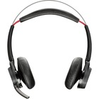 Plantronics B825 Voyager Focus UC Headset - Stereo - Wireless - Bluetooth - Over-the-head - Binaural - Supra-aural