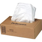 """Fellowes Waste Bags for 99Ms, 90S , 99Ci, HS-440 and AutoMaxâ""""¢ 130C and 200C Shredders - 34.07 L - 30"""" (762 mm) Height x 15"""" (381 mm) Width x 14"""" (355.60 mm) Depth - 100/Carton - Plastic - Clear"""