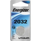 Energizer 2032 3V Watch/Electronic Battery - For Multipurpose - 3 V DC - 220 mAh - Lithium Manganese Dioxide (Li-MnO2)