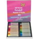Funstuff Oil Pastels. 24 Assorted Jumbo Sticks