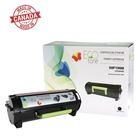 EcoTone Toner Cartridge - Remanufactured for Lexmark 50F1H00, 501H, MS310dn, MS312d - Black