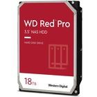 "WD Red Pro WD181KFGX 18 TB Hard Drive - 3.5"" Internal - SATA (SATA/600) - Desktop PC, Storage System Device Supported - 7200rpm - 300 TB TBW - 5 Year Warranty"