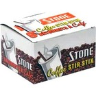 "Stone 4.5"" Flat Stirrer - Brown"