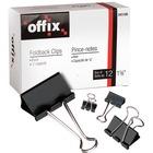"""Offix Foldback Clip 3/4"""" (3/8"""" cap.) 12/bx"""