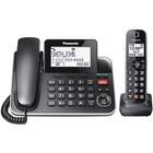 Panasonic KX-TGF870 DECT 6.0 Corded/Cordless Phone - Black