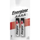 Energizer Max AAAA Batteries - For Multipurpose - AAAA - 1.5 V DC - 595 mAh - Alkaline - 2 / Pack
