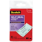 Scotch Self-Laminating Business Cards