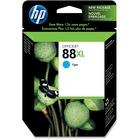 HP 88 Original Ink Cartridge - Single Pack - Inkjet - 1200 Pages Color - Cyan - 1 Each