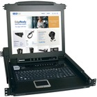 "Tripp Lite B020-008-17 8-Port 1U Console KVM Switch - Steel Housing - 8 Computer(s) - 17"" LCD - 8 x SPDB-15 Keyboard/Mouse/Video"
