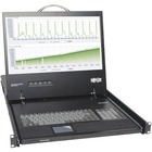 "Tripp Lite NetDirector 1U Rackmount LCD Console - 1 Computer(s) - 19"" Active Matrix TFT Color LCD - 1 x HD-15 Keyboard/Mouse/Video - 1U Height"