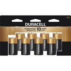 Duracell Coppertop Alkaline C Battery - MN1400 - For Multipurpose - C - 1.5 V DC - Alkaline - 8 / Pack