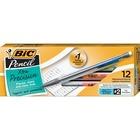 BIC Refillable Mechanical Pencils - 0.5 mm Lead Diameter - Refillable - Clear Barrel - 12 / Dozen