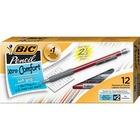 BIC Matic Grip Mechanical Pencils - 0.5 mm Lead Diameter - Assorted Barrel - 12 / Dozen