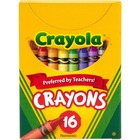Crayola Tuck Box 16 Crayons - Assorted