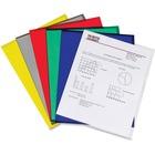 "C-Line Project Folders - Letter - 8 1/2"" x 11"" Sheet Size - Polypropylene - Assorted - 25 / Box"