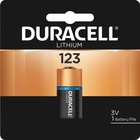 Duracell Lithium Photo 3V Battery - DL123A - For Camera - 3 V DC - 1 Each