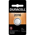 Duracell Coin Cell Lithium 3V Battery - DL2016 - For Multipurpose - 3 V DC - Lithium (Li) - 1 / Each