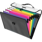 "Pendaflex Desk-free Mobile Hang Organizer - Letter - 8 1/2"" x 11"" Sheet Size - 6 Pocket(s) - Polypropylene - Assorted - 1 Each"