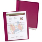 """Oxford Extra-Wide Report Cover - Letter - 8 1/2"""" x 11"""" Sheet Size - 100 Sheet Capacity - 3 Fastener(s) - 1/2"""" Fastener Capacity for Folder - Clear - 25 / Box"""