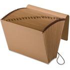 "Pendaflex A-Z Full-Flap Kraft Expanding File - Letter - 8 1/2"" x 11"" Sheet Size - 7/8"" Expansion - 21 Pocket(s) - Kraft - Brown - Recycled - 1 Each"