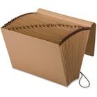 "Pendaflex A-Z Full-Flap Kraft Expanding File - Legal - 8 1/2"" x 14"" Sheet Size - 7/8"" Expansion - 21 Pocket(s) - Kraft - Red - Recycled - 1 Each"