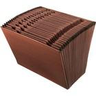 "Pendaflex 31-Pocket Red Fiber Expanding File - Letter - 8 1/2"" x 11"" Sheet Size - 31 Pocket(s) - Red Fiber - Redrope - 1.13 kg - Recycled - 1 Each"