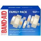 Band-Aid Variety Pack Adhesive Bandages - 280/Box - White