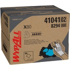 "Wypall X80 Cloths - 12.5"" x 16.8"" - Blue - Absorbent - 160 Quantity Per Carton - 1 / Box"