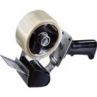 "Tartan Pistol Grip Box Sealing Tape Dispenser - Holds Total 1 Tape(s) - 3"" (76.20 mm) Core - Refillable - Adjustable Tension Mechanism, Adjustable Braking Mechanism - Gray - 1 Each"