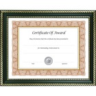"""NuDell Prestigious Document Frame - 11"""" x 14"""" Frame Size - Holds 8.50"""" x 11"""" , 8"""" x 10"""" Insert - Desktop - Horizontal, Vertical - Hanger, Easel Back - 1 Each - Plastic - Black, Gold"""