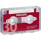Philips Speech Mini Dictation Cassette - 1 x 30 Minute