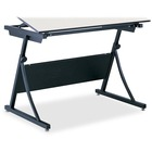 "Safco PlanMaster Adjustable Drafting Table Base - Black Base - 37.5"" Height x 43"" Width x 29.5"" Depth - Assembly Required"