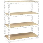 """Safco Archival Shelving Box 2 of 2 - 69"""" Width x 32.9"""" Depth x 0.5"""" Height - Particleboard - Gray"""