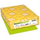 "Astrobrights Inkjet, Laser Print Printable Multipurpose Card - Letter - 8 1/2"" x 11"" - 65 lb Basis Weight - Smooth - 250 / Pack - Terra Green"