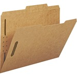 Smead Kraft 2/5 Cut Tab Fastener File Folders