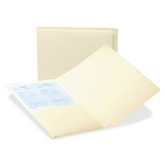 Smead Antimicrobial Straight End Tab Folders with Pkt