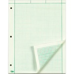 TOPS Green Tint Engineering Computation Pad - Letter