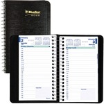Blueline 1/2 Hour Daily Appointment Book