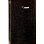 Blueline Hardbound English Daily Planner