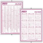 Blueline Wall Calendar