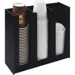 Vertiflex 3-column Cup and Lid Holder Organizer