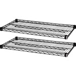 "Lorell 2 Extra Shelves for Industrial 48""x18"" Wire Shelving"